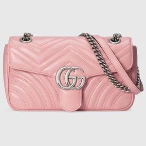 Pink Gucci pastel purse